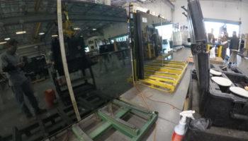Electrochromic Smart Glass Fabrication Debris Repair
